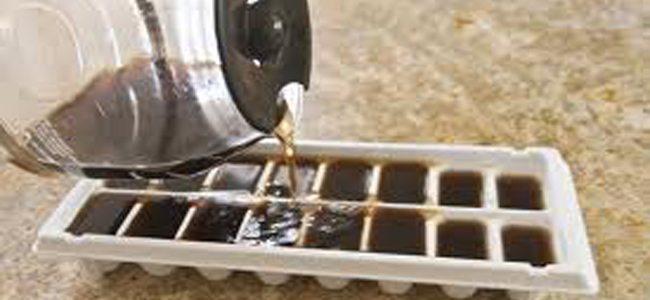 Παγάκια από καφέ
