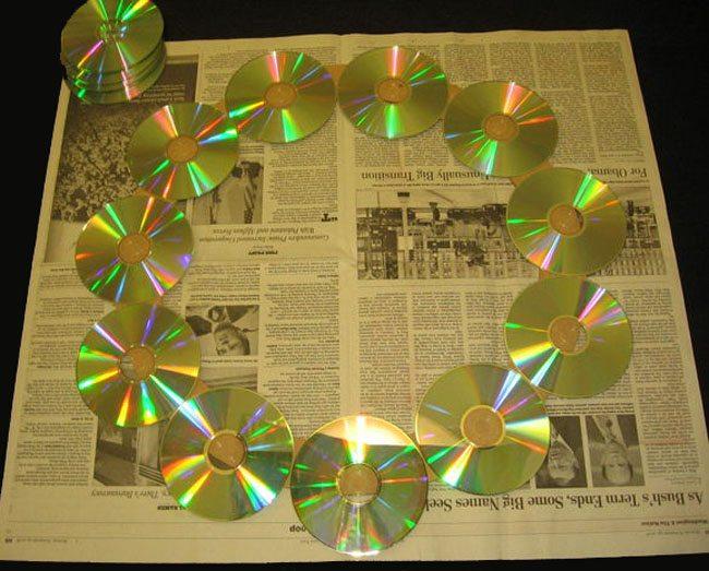 Διακόσμηση με παλιά CD! #2
