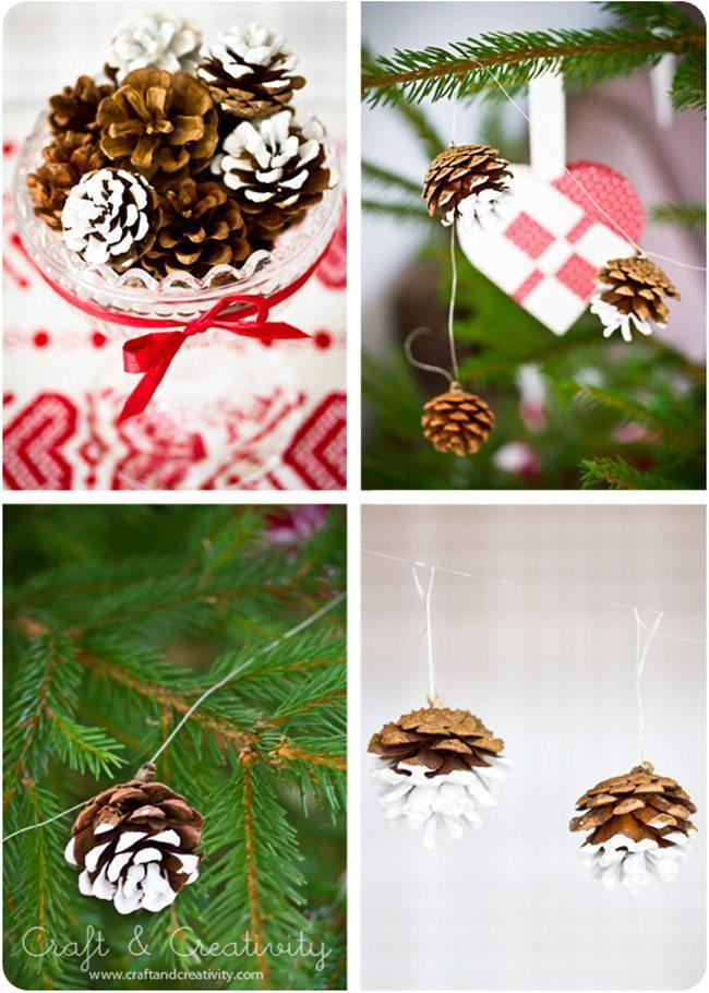 Χριστουγεννιάτικη διακόσμηση με κουκουνάρια! #2