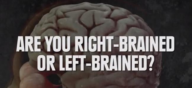 Ποιο μέρος του εγκεφάλου χρησιμοποιώ? - Τεστ