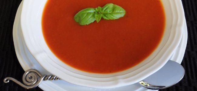 Συνταγή για ντοματόσουπα (με φρέσκια ντομάτα)